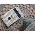 Hoooked RibbonXL Tablet Sleeve DIY Crochet Kit-Caramel Brown
