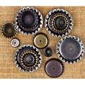 Prima Marketing Mechanicals Metal Vintage Trinkets Bottle Caps
