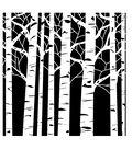 Crafter\u0027s Workshop Template 12\u0022X12\u0022-Aspen Trees