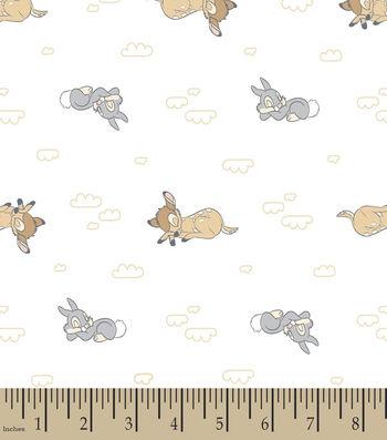 "Nursery Flannel Fabric 42""-Sweet Dream Bambi"