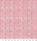 Christmas Cotton Fabric 44\u0022-Red & Silver Glitter Cross Hatch
