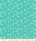 Quilter\u0027s Showcase Fabric -Pool Green Mum Floral