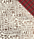 Cabin Fever Double-Sided Cardstock 12\u0022X12\u0022-Adventure Awaits