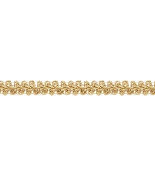 "Simplicity Trims-1/2"" Gimp Holographic Gold"