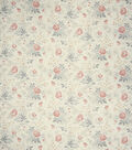 French General Lightweight Decor Fabric 54\u0022-Comedy/Rose