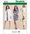 Simplicity Misses\u0027 Dress And Coat Or Jacket-16-18-20-22-24