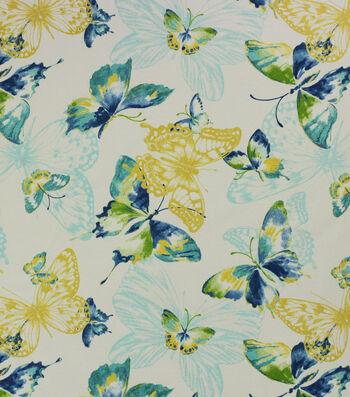 Solarium Outdoor Decor Fabric 54''-Midori & Opal