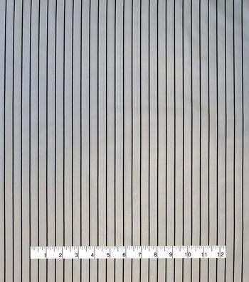 Anti-Static Lining Fabric -Black Stripe
