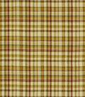 Home Decor 8\u0022x8\u0022 Fabric Swatch-Robert Allen Salt Pond Plaid Acorn Fabric