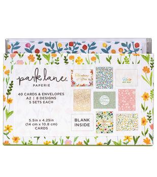Park Lane Card & Envelope Sets-Wild Flourish