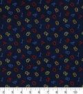 Nursery Flannel Fabric 42\u0022-Bright 123 Tossed