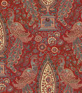 Waverly Upholstery Fabric-Jewel Tower Currant