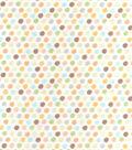 Nursery Flannel Fabric 42\u0022-Safari Small Dot