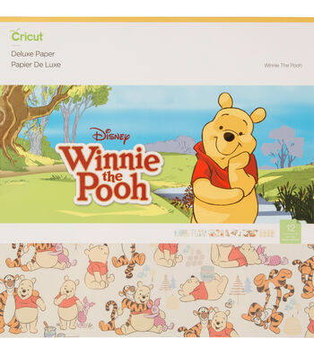 Cricut Deluxe Paper-Winnie the Pooh