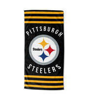 Pittsburgh Steelers Beach Towel, , hi-res