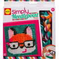 Alex Toys Simply Needlepoint Kit-Fox