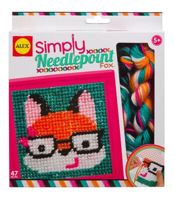 Alex Toys Simply Needlepoint Fox