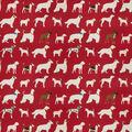 Eaton Square Lightweight Decor Fabric 54\u0022-Downpour/Red