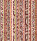 Home Decor 8\u0022x8\u0022 Fabric Swatch-Print Fabric Eaton Square Shield Bright Multi
