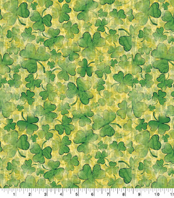 St. Patrick's Day Cotton Fabric-Luck of the Irish