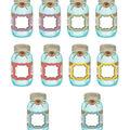 Shabby Chic Mason Jars 30/pk, Accents Set Of 6 Packs