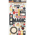Simple Stories Say Cheese Chipboard Stickers