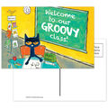 Pete the Cat Welcome To Our Groovy Class Postcards, 30 Per Pack, 6 Packs
