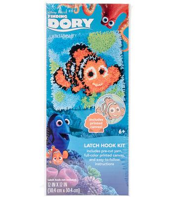 "Disney Latch Hook Kit 12""X12""-Nemo-Finding Dory"