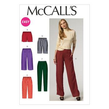 McCall's Misses Pants-M6843