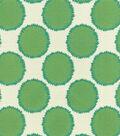 Waverly® Upholstery Fabric 55\u0022-Well Rounded/Jade
