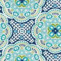 Waverly Sun N Shade Fabric-Astrid Turquoise