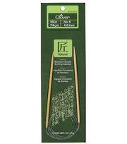 "Clover Bamboo Circular Knitting Needles 29""-Size 6, , hi-res"