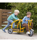 Winther Viking School Bus Tricycle-Yellow
