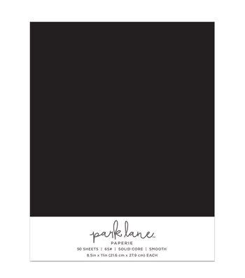 Park Lane 50 pk 8.5''x11'' Value Papers-Black