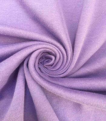Doodles Cotton Interlock Fabric-Purple