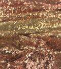 Sequin Fabric 52\u0027\u0027-Rose Gold Ombre