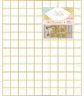 Crate Paper Wire System Grid Panel 20\u0022X24\u0022-Gold