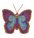 Cross Stitch Style Wood Laser Cut For Cross Stitch-Butterfly