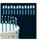Wilton Color Flame Candles 2\u0022 12/Pkg-Blue