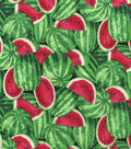 Novelty Cotton Fabric -Watermelons