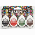 Memento Dew Drop Dye Ink Pads 4/Pkg-Gotta Have