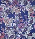 Silky Prints Fabric 57\u0022-Pixelatated Floral