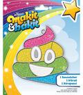 Makit & Bakit Sun Catcher Kit-Rainbow Emoji Poo