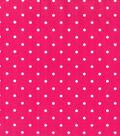 Keepsake Calico Cotton Fabric -Dots On Pink