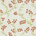 Home Decor 8\u0022x8\u0022 Fabric Swatch-Waverly Indochine Emb Radish