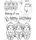 Paper Rose Clear Stamps-Snugglepot, Cuddlepie & Raggedy Blossom