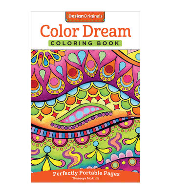Design Originals Color Dream Coloring Book