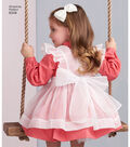 Simplicity Pattern 8348 Toddlers\u0027 Dress & Pinafore-Size A (1/2-1-2-3-4)