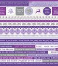 Kaisercraft Christmas Jewel 12\u0027\u0027x12\u0027\u0027 Cardstock Stickers