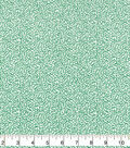 Keepsake Calico Cotton Fabric 43\u0022-Green Scrolls